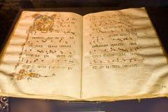 Hymne-livre antique Photo libre de droits