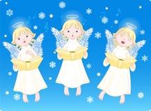 Hymnes de louange de Noël illustration de vecteur