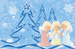 Hymnes de louange de Noël Photographie stock