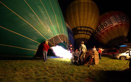 Hynek Cup - International hot air balloon cup Royalty Free Stock Images