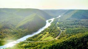 Hyner Veiw Pennsylvania Stock Foto's