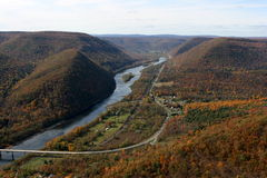 Hyner view Stock Photography
