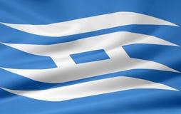 hyogo Ιαπωνία σημαιών Στοκ φωτογραφία με δικαίωμα ελεύθερης χρήσης