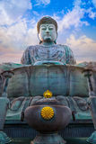 Hyogo Daibutsu - The Great Buddha at Nofukuji Temple in Kobe Royalty Free Stock Photos