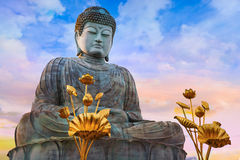 Hyogo Daibutsu - The Great Buddha at Nofukuji Temple in Kobe Stock Photography