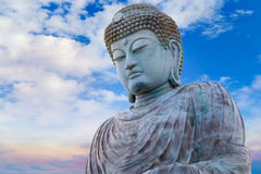 Hyogo Daibutsu - The Great Buddha at Nofukuji Temple in Kobe Stock Images