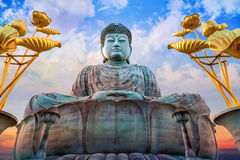 Hyogo Daibutsu - The Great Buddha at Nofukuji Temple in Kobe Royalty Free Stock Images