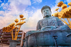 Hyogo Daibutsu - The Great Buddha at Nofukuji Temple in Kobe Stock Photos