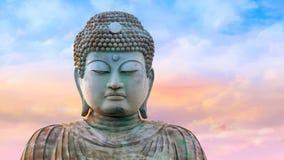 Hyogo Daibutsu - The Great Buddha at Nofukuji Temple in Kobe. Japan Royalty Free Stock Photo