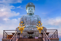 Hyogo Daibutsu - The Great Buddha at Nofukuji Temple in Kobe Royalty Free Stock Photography