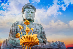Hyogo Daibutsu in Kobe, Japan Royalty Free Stock Image