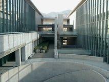 Hyogo Prefectural konstmuseum, Kobe, Japan Royaltyfri Bild