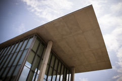 Hyogo Prefectural Museum of Art. The museum is designed by Tadao Ando, a Japanese architect Stock Image