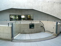Hyogo Prefectural Museum van Kunst, Kobe, Japan royalty-vrije stock foto
