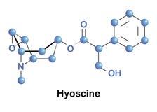 Hyoscine medication motion sickness Royalty Free Stock Image