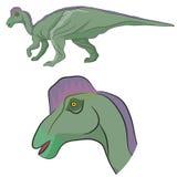 Hypacrosaurusdinosaurus Stock Foto's