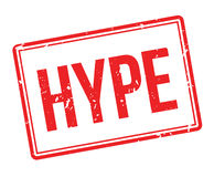 Hype rubber stamp Royalty Free Stock Photography