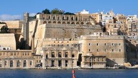 Hyperlapse of Valletta, Malta stock video footage