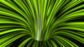 Hyper Tunnel. Dynamic flying through abstract tunnel, modeled in 3D editor stock video