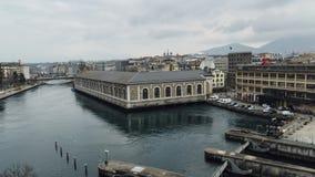 Hyper von der Luftversehen Genf-Skyline stock footage