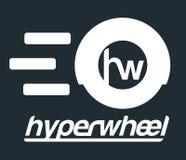 Hyper Wheel Logo Design Royalty Free Stock Photos