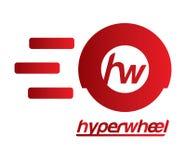 Hyper Wheel Logo Design Royalty Free Stock Photography
