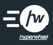 Hyper Wheel Logo Design Stock Photos