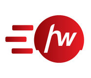 Hyper Wheel Logo Design Royalty Free Stock Photo