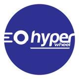 Hyper Wheel Sticker Stock Photo