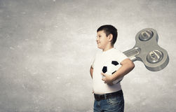 Hyperactive happy child Royalty Free Stock Images