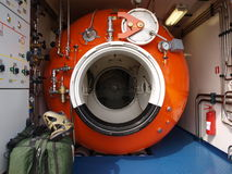 Hyperbaric chamber Royalty Free Stock Photography