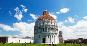 Hyperlapse Пизы Италии сток-видео