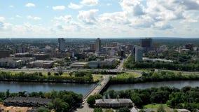 Hyperlapse dans le New Jersey du Nouveau Brunswick clips vidéos