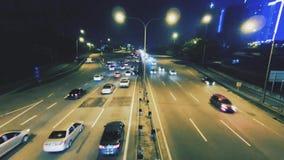 Hyperlapse in der Bewegung stock video footage