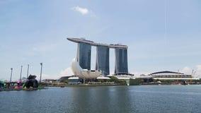 Hyperlapse Marina Bay Sand Singapore almacen de video