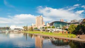 Hyperlapse video of Adelaide city, Australia stock video
