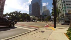 Hyperlapse video Miami FL stock video