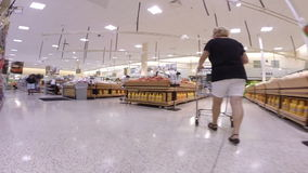 Hyperlapse video Publix Supermarket stock footage