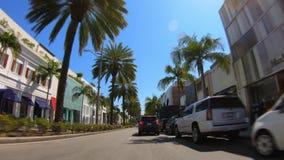 Hyperlapseaandrijving door Beverly Hills - LOS ANGELES, de V.S. - 18 MAART, 2019 stock videobeelden
