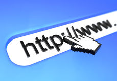 Hyperlink Royalty Free Stock Photo