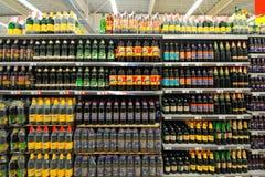 Hypermarket Auchan grand opening Stock Photo