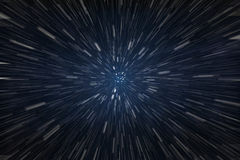 Hyperspace Royalty Free Stock Images
