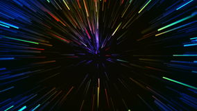 Hyperspace Motion Background Royalty Free Stock Image