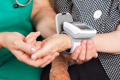 hypertension Royaltyfri Foto