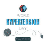 Hypertension Day card Royalty Free Stock Photo