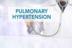 HYPERTENSION PULMONAIRE images stock