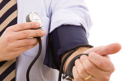 Hypertension test Royalty Free Stock Image