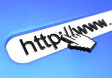 Hypertext-Link Lizenzfreies Stockfoto