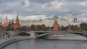 Hypertijdspanne van Moskou het Kremlin stock videobeelden