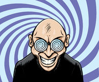 Hypno Googles Mann Lizenzfreies Stockbild